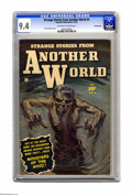 Golden Age (1938-1955):Horror, Strange Stories from Another World #4 Crowley Copy pedigree(Fawcett, 1952) CGC NM 9.4 Off-white to white pages. The painted...