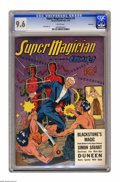 Golden Age (1938-1955):Adventure, Super Magician Comics V1#9 Vancouver pedigree (Street & Smith,1943) CGC NM+ 9.6 White pages. This incredible pedigreed comi...