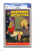 Golden Age (1938-1955):Crime, Suspense Detective #4 (Fawcett, 1952) CGC VF/NM 9.0 Off-whitepages. Bernard Baily and Mike Sekowsky are among the contribut...