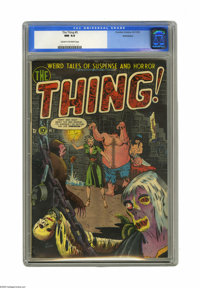 The Thing! #5 Bethlehem pedigree (Charlton, 1952) CGC NM 9.4 Cream to off-white pages. Sometimes we find ourselves think...