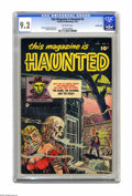 Golden Age (1938-1955):Horror, This Magazine Is Haunted #4 Crowley Copy pedigree (Fawcett, 1952)CGC NM- 9.2 Off-white pages. This is the only copy of this...