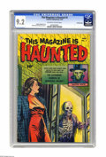 Golden Age (1938-1955):Horror, This Magazine Is Haunted #5 Crowley Copy pedigree (Fawcett, 1952)CGC NM- 9.2 Off-white to white pages. The cover of this is...