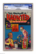 Golden Age (1938-1955):Horror, This Magazine Is Haunted #7 Crowley Copy pedigree (Fawcett, 1952)CGC VF/NM 9.0 Off-white pages. Sheldon Moldoff, creator of...