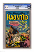 Golden Age (1938-1955):Horror, This Magazine Is Haunted #8 Crowley Copy pedigree (Fawcett, 1952)CGC NM+ 9.6 Off-white pages. This is the only 9.6, and hig...