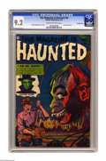 Golden Age (1938-1955):Horror, This Magazine Is Haunted #10 Crowley Copy pedigree (Fawcett, 1953)CGC NM- 9.2 Cream to off-white pages. Gerber's Photo Jo...