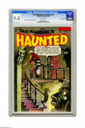 Golden Age (1938-1955):Horror, This Magazine Is Haunted #12 Crowley Copy pedigree (Fawcett, 1953)CGC NM 9.4 Off-white pages. When it comes to pre-Code hor...