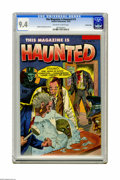 Golden Age (1938-1955):Horror, This Magazine Is Haunted #13 Crowley Copy pedigree (Fawcett, 1953)CGC NM 9.4 Off-white to white pages. Here's a heads-up fo...