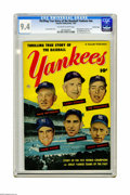 Golden Age (1938-1955):Non-Fiction, Thrilling True Story of the Baseball Yankees #nn Crowley Copypedigree (Fawcett, 1952) CGC NM 9.4 Off-white to white pages. ...