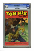 Golden Age (1938-1955):Western, Tom Mix Western #7 Mile High pedigree (Fawcett, 1948) CGC NM+ 9.6White pages. This is the census-topping copy of this issue...
