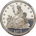 Patterns, 1873 T$1 Trade Dollar, Judd-1315, Pollock-1458, R.4, PR63 Cameo NGC....