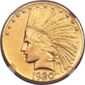 Indian Eagles, 1920-S $10 -- Removed From Jewelry -- NGC Details. AU....
