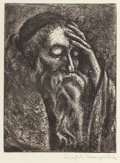Fine Art - Work on Paper:Print, Joseph Margulies (American, 1896-1986). Group of Three Religious Vignettes. Etching, each. Ed. 250. Each signed in penci... (Total: 3 Items)