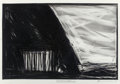 Fine Art - Work on Paper:Drawing, Robert Wilson (American, b. 1941). When We Dead Awaken, ActI, 1991. Charcoal and crayon on Fabriano paper. 27-5/8 x 39-...