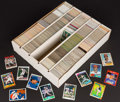 Baseball Cards:Lots, 1980's-90's Multi-Brand Baseball, Football, Basketball & HockeyCard Collection in 5,000-Count Box. ...
