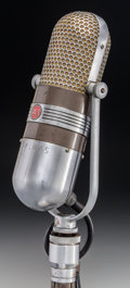 Photography, An Iconic RCA Model 77D Studio Microphone from the University of Alabama Football Organization, circa 1950. 12 i...