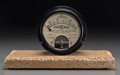 Photography, An Eveready Ampere Meter by Jewell Electrical, early 20th century. 7 h x 12 w x 6 d inches (17.8 x 30.5 x 15.2 cm). ...