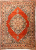 Rugs & Textiles:Carpets, A Persian Tabriz Rug, 20th century. 12 feet long x 9 feet wide(365.7 x 274.3 cm). WEIDER HEALTH AND FITNESS COLLECTION. ...