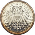 German States:Lubeck, German States: Lubeck. Free City Proof 3 Mark 1911-A PR65+ DeepCameo PCGS,...