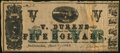 Obsoletes By State:Louisiana, Natchitoches, LA- V. Durand $5 Apr. 27, 1862. ...