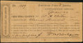 Confederate Notes:Group Lots, Interim Depositary Receipt Lynchburg, (VA)- $1100 Mar. 23, 1864Tremmel VA-92.. ...