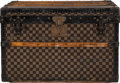 "Luxury Accessories:Travel/Trunks, Louis Vuitton Damier Ebene Canvas Trunk, Circa 1920's. GoodCondition. 24.5"" Width x 15.5"" Height x 22"" Depth. ..."