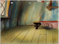 Animation Art:Painted cel background, The Snow Man Painted Background Group of 2 (Terrytoons,1946).... (Total: 2 )
