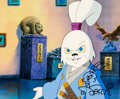 Animation Art:Production Cel, Teenage Mutant Ninja Turtles Production Cel, Usagi Yojimbo,signed by Stan Sakai (Murakami-Wolf-Swenson, c. 1980s). ...
