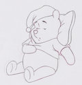 Animation Art:Production Drawing, Winnie the Pooh TV Commercial Animation Drawing Group of 8 (WaltDisney, c. 1980s).... (Total: 8 )