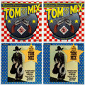 Memorabilia:Movie-Related, Tom Mix Record Group of 4 (Various Labels,1940s-83).... (Total: 4Items)
