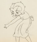 Animation Art:Production Drawing, Poor Cinderella Betty Boop Animation Drawing Group of 2 (MaxFleischer, 1934).... (Total: 2 )