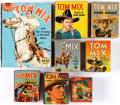 Big Little Book:Miscellaneous, Tom Mix Big Little Book Group of 8 (Whitman, 1930s-40s) Condition:Average FN/VF.... (Total: 8 )