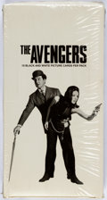 Memorabilia:Trading Cards, The Avengers/Emma Peel and John Steed Trading Cards Unopened WaxBox (Movie Acquisition Corp., 1992)....