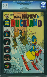 Baby Huey in Duckland #13 - File Copy (Harvey, 1966) CGC NM+ 9.6 Off-white to white pages
