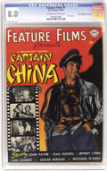 Golden Age (1938-1955):Adventure, Feature Films #1 - Davis Crippen (D (DC, 1950) CGC VF 8.0 Off-white to white pages.