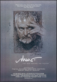 "Drew: The Man Behind the Poster (Kino International, 2013). Autographed One Sheet (27"" X 38.5"") SS. Documentar..."