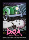 "Movie Posters:Rock and Roll, D.O.A. (High Times Films, 1980). Poster (23.25"" X 32.5""). Rock andRoll.. ..."