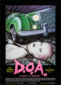 """D.O.A. (High Times Films, 1980). Poster (23.25"""" X 32.5""""). Rock and Roll"""