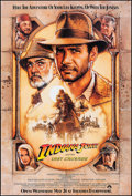 """Movie Posters:Action, Indiana Jones and the Last Crusade (Paramount, 1989). One Sheet (27"""" X 40"""") SS Advance. Action.. ..."""