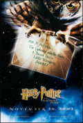 "Movie Posters:Fantasy, Harry Potter and the Sorcerer's Stone (Warner Brothers, 2001). OneSheet (27"" X 40"") DS Advance. Fantasy.. ..."