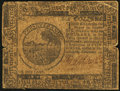 Colonial Notes:Continental Congress Issues, Continental Currency November 29, 1775 $6 Fine.. ...