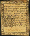 Colonial Notes:Pennsylvania, Pennsylvania April 10, 1777 3d About New.. ...