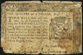 Colonial Notes:New York, New York August 13, 1776 $1/4 About Good.. ...