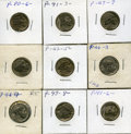 Hobo Nickels, A Collection of 23 Hobo Nickels by the Known Carver, JohnDorusa.... (Total: 23 coins)