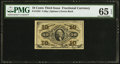 Fractional Currency:Third Issue, Fr. 1255 10¢ Third Issue PMG Gem Uncirculated 65 EPQ.. ...