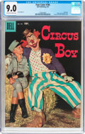 Silver Age (1956-1969):Humor, Four Color #785 Circus Boy(Dell, 1957) CGC VF/NM 9.0 Off-white to white pages....