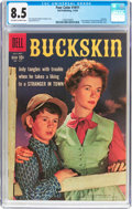 Silver Age (1956-1969):Western, Four Color #1011 Buckskin (Dell, 1959) CGC VF+ 8.5 Off-white to white pages....