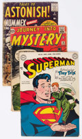 Golden Age (1938-1955):Miscellaneous, Comic Books - Assorted Golden and Silver Age Comics Group of 10 (Various Publishers, 1940s-60s) Condition: Average FR.... (Total: 10 Comic Books)