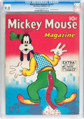 Golden Age (1938-1955):Cartoon Character, Mickey Mouse Magazine V3#10 (K. K. Publications/ Western Publishing Co., 1938) CGC VF/NM 9.0 Cream to off-white pages....