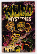 Golden Age (1938-1955):Horror, Weird Mysteries #2 (Gillmor, 1952) Condition: GD+....