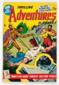 Golden Age (1938-1955):Miscellaneous, Thrilling Adventures in Stamps #8 (Stamp Comics, 1953) Condition: VG+....